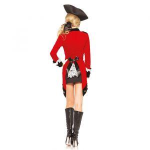 Rebel Piraten kostuum Leg Avenue