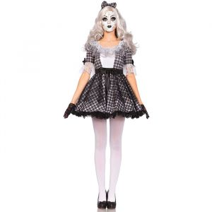 Pretty Porcelain Doll kostuum dames Leg Avenue