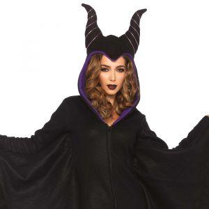 Cozy Villain Maleficent kostuum dames Leg Avenue