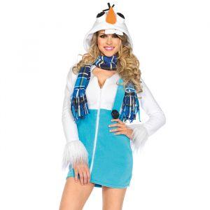 Olaf Frozen kostuum dames Leg Avenue
