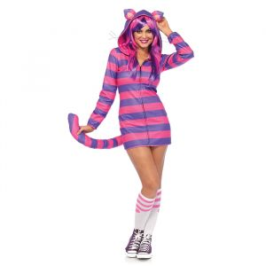 Cheshire Cat Wonderland kostuum dames Leg Avenue