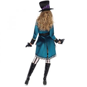 Alice Delightful Hatter kostuum dames Leg Avenue