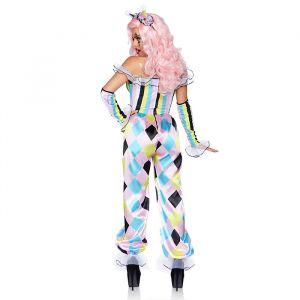 Pretty Parisian Clown kostuum dames Leg Avenue