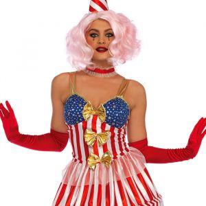 Carousel Clown kostuum dames Leg Avenue
