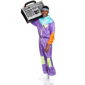 Awesome 80s kostuum heren Leg Avenue