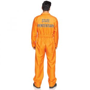 Gevangenispak oranje heren Leg Avenue