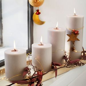 Kersthanger Star gold Madam Stoltz