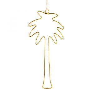 Palm hanger goud (23cm) Madam Stoltz