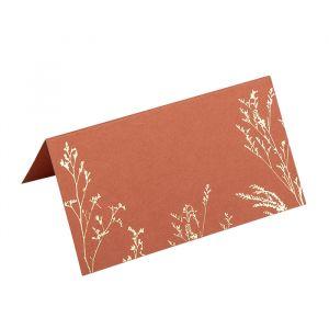 Plaatskaartjes Twigs Terracotta (10st)