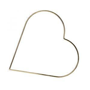 Metalen decoratie hart (30cm)