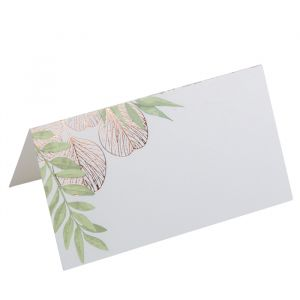 Plaatskaartjes Botanique roségoud (10st)