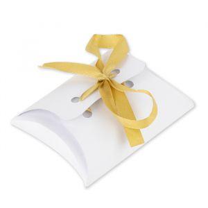 Bedankdoosjes Pillow luxe wit (10st)