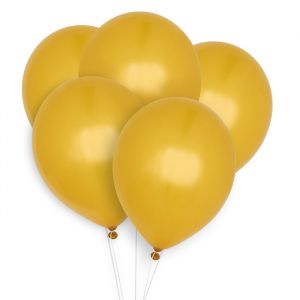 Ballonnen goud (10st) Perfect Basics House of Gia