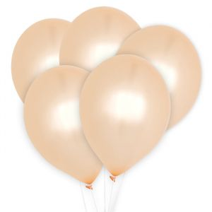 Ballonnen peach (10st) Perfect Basics House of Gia