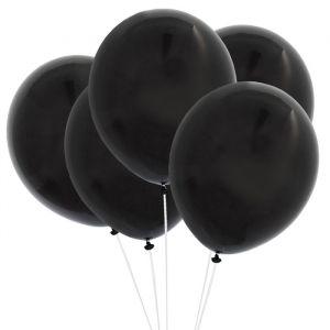 Ballonnen zwart (10st) Perfect Basics House of Gia