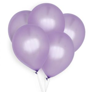 Ballonnen lila (10st) Perfect Basics House of Gia