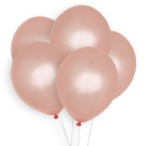 Ballonnen roségoud (10st) Perfect Basics House of Gia