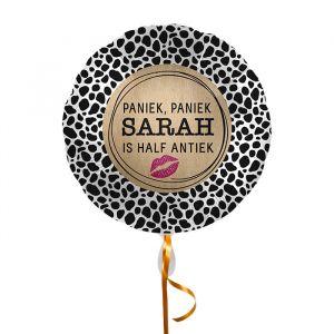 Folieballon Sarah