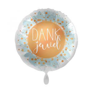 Folieballon Dankjewel