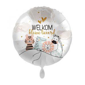 Folieballon Welkom kleine lieverd