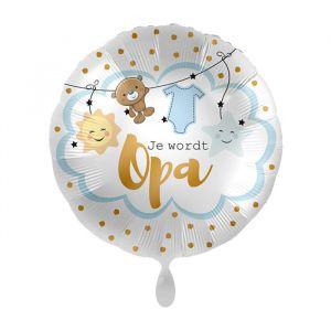 Folieballon Je wordt opa (43cm)