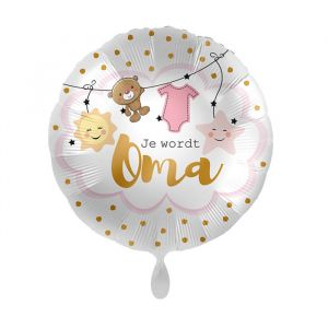 Folieballon Je wordt oma (43cm)