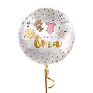 Folieballon Je wordt oma