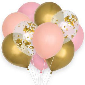 Ballonnenmix Sweet Pastel (10st) House of Gia