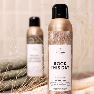 Shower Foam Rock This Day (200ml) The Gift Label