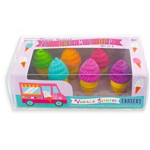 Gummen met geur kleine ijsjes (6st) Ooly