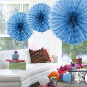 Paper Fan 45cm Lichtblauw
