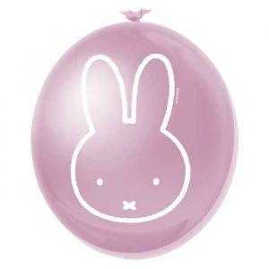 Nijntje Baby Ballonnen Roze