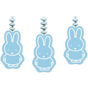 Nijntje Baby Hangers Blauw (3st)