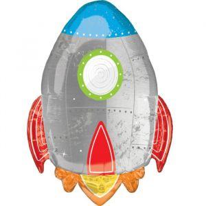 Folieballon Raket 73cm