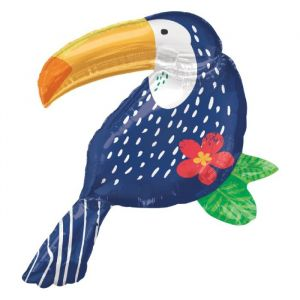 Folieballon Tropical Jungle Toucan 93cm