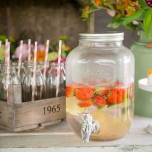 Yorkshire Mason Jar dispenser medium. Foto: Wit Photography