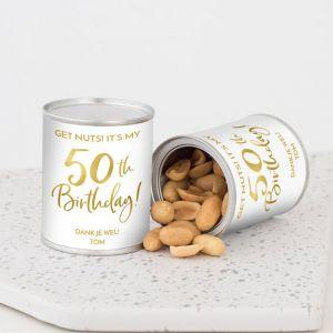 Pindablikje verjaardag birthday goud 50