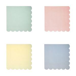Pastel mix servetten