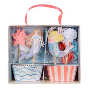 Cupcake set Let's be Mermaids Meri Meri