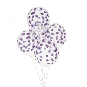 Confetti Ballonnen Lila