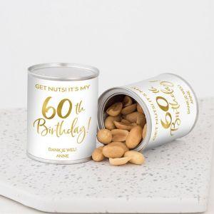 Pindablikje verjaardag birthday goud 60