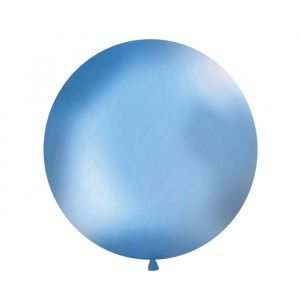 Mega ballon Blauw 1m