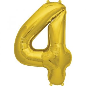XL Folieballon (90cm) Goud