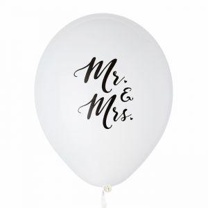 Mr & Mrs ballonnen (6st) House of Gia