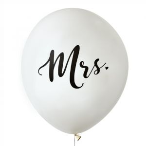 Mega ballon Mrs (60cm) House of Gia