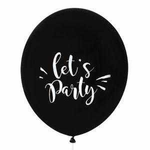 Mega ballon Let's Party (60cm) House of Gia