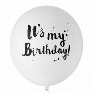 Mega ballon It's my Birthday (60cm) House of Gia