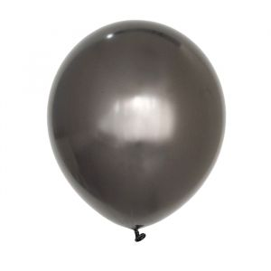 Chroom ballonnen graphite (10st) House of Gia