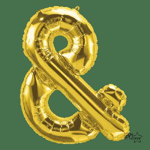 Folieballon & Goud (36cm)
