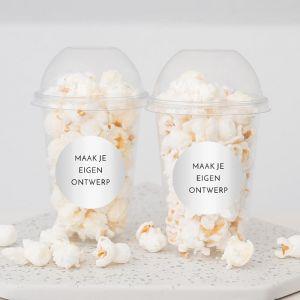 Popcornbeker eigen ontwerp